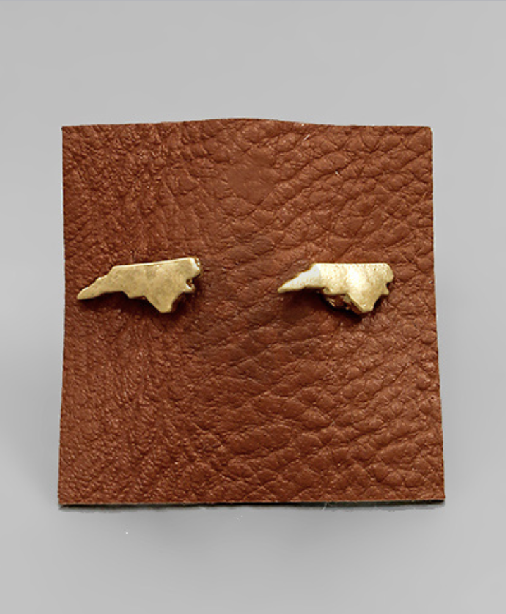NC State Post Earrings - Creek & Co