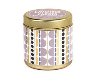 Lavender + Cassis Kaleidoscope Candle
