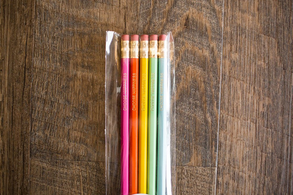 5ct Inspirational Pencils - Creek & Co
