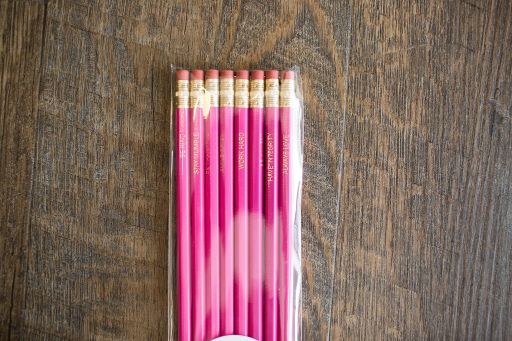 Be Kind, Stay Humble Pencils - Creek & Co