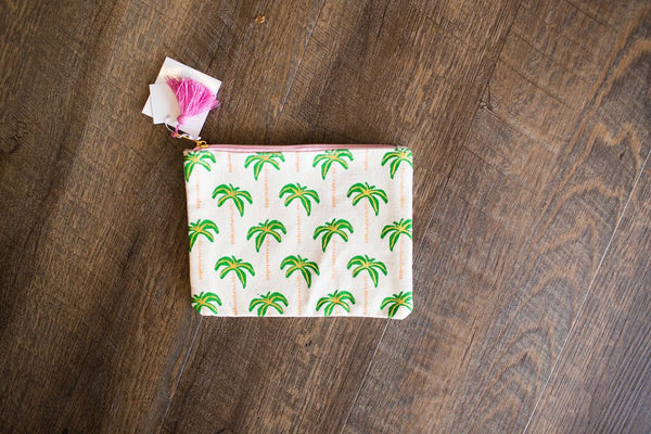 Canvas Zipper Bag - Creek & Co