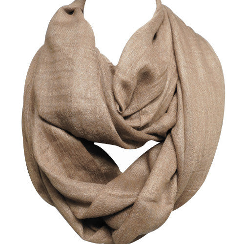 Taupe Infinity Scarf - Creek & Co