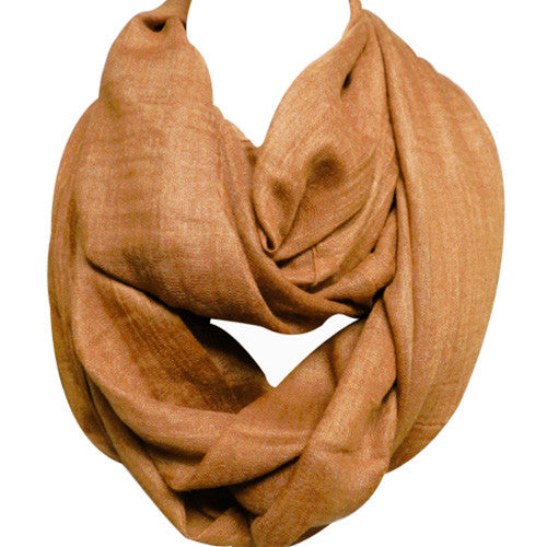 Clay Infinity Scarf - Creek & Co