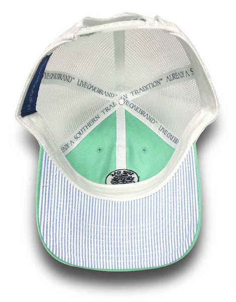 Live Oak Aqua Trucker Hat