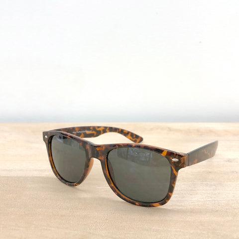 Classic Tortoise Sunglasses - Creek & Co
