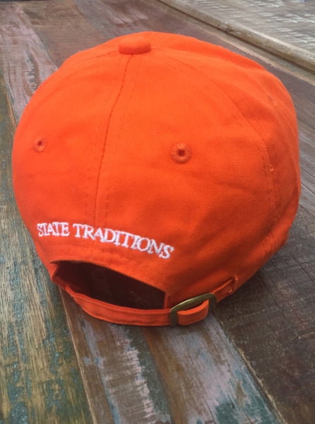 Orange North Carolina Gameday Hat - Creek & Co