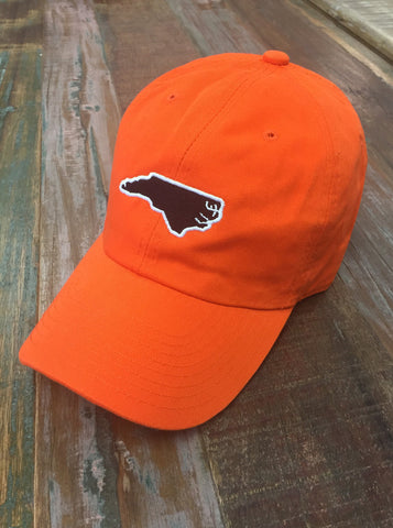 Orange North Carolina Gameday Hat