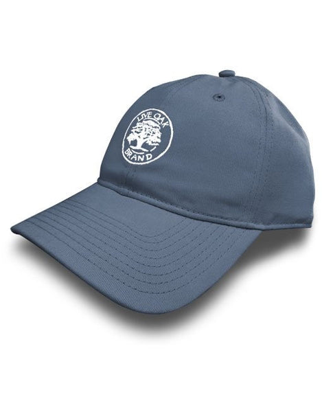 Live Oak Blue Jean Solid Twill Hat - Creek & Co