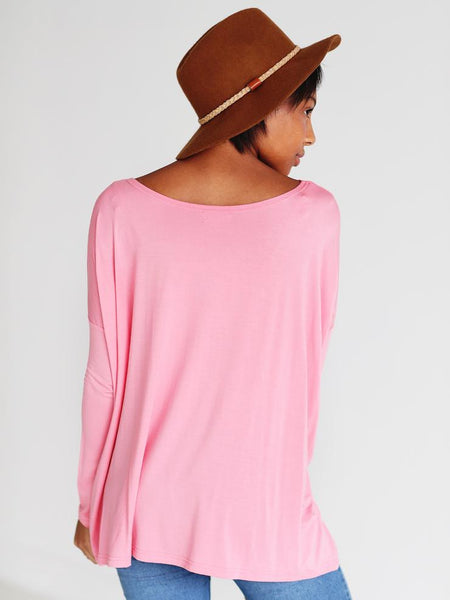 Strawberry Ice Long Sleeve Piko