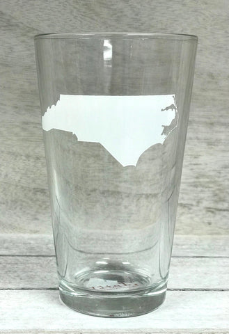 White State Pint Glass