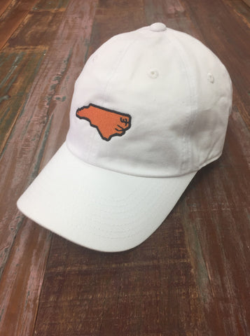 White North Carolina Gameday Hat - Creek & Co