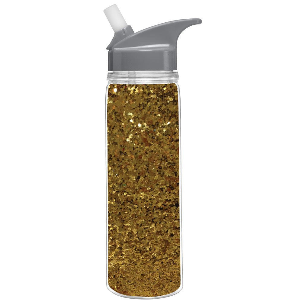 18oz Glitter Water Bottle