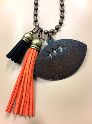 Football Cut Out Necklace - Creek & Co