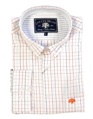 Sunset Window Panes Dress Shirt