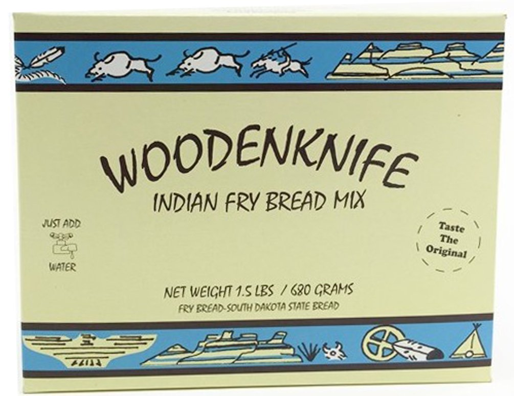 Wooden Knife Indian Fry Bread Mix, 1.5 Pounds (12 ct Case)