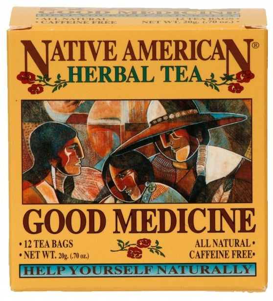 Good Medicine - Native American Herbal Tea 12ct (6 pack)