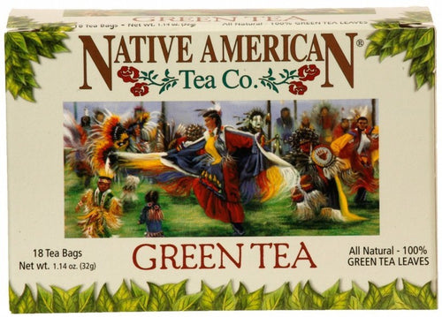 Green Tea - Native American Herbal Tea (6 pack)