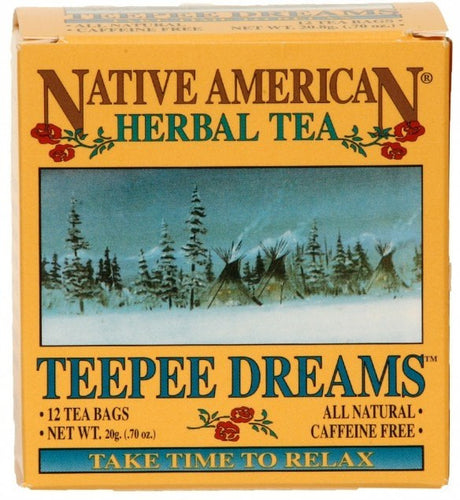 TeePee Dreams - Native American Herbal Tea 12ct (6 pack)