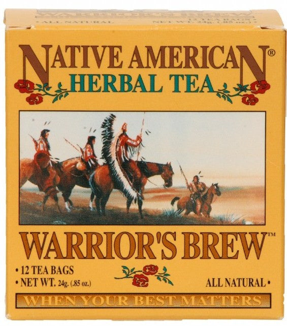 Warrior's Brew - Native American Herbal Tea 12ct (6 pack)
