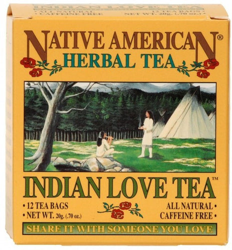 Indian Love Tea - Native American Herbal Tea 12ct (6 pack)