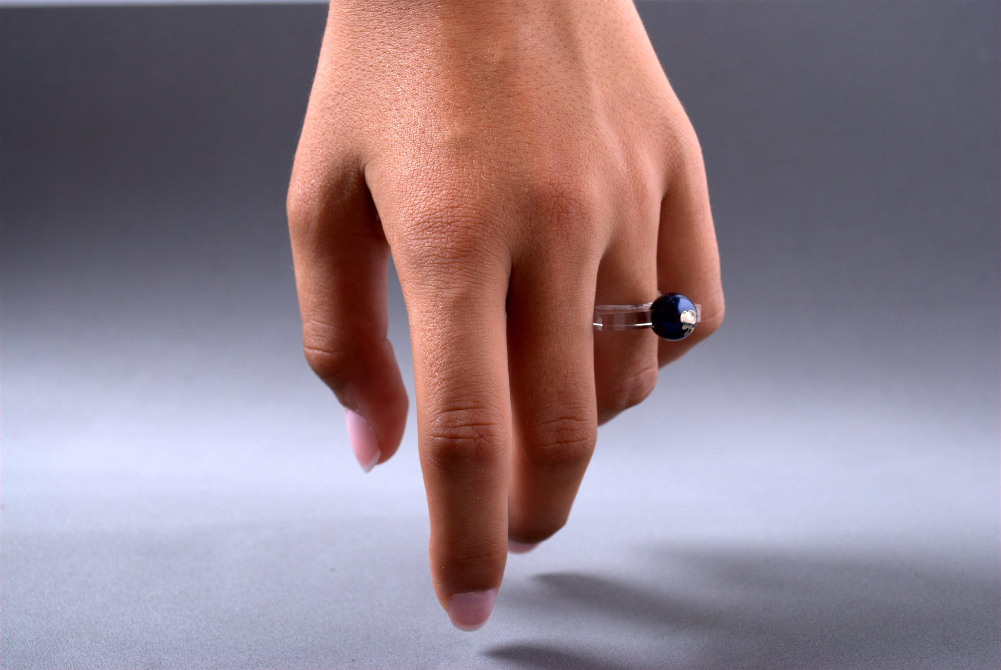 Anillo Papaiona T4On - Crystal Midnightblue