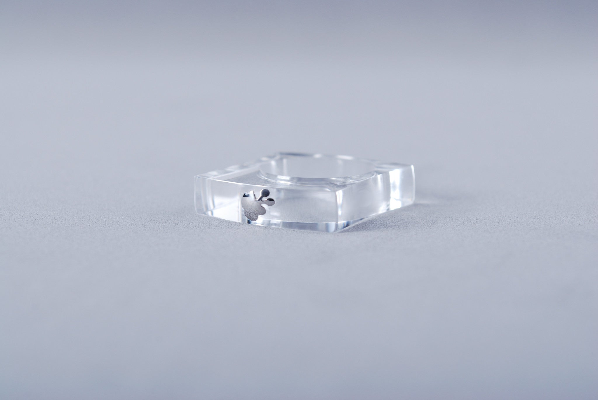 Anillo Papaiona T6Onto - Crystal Ice
