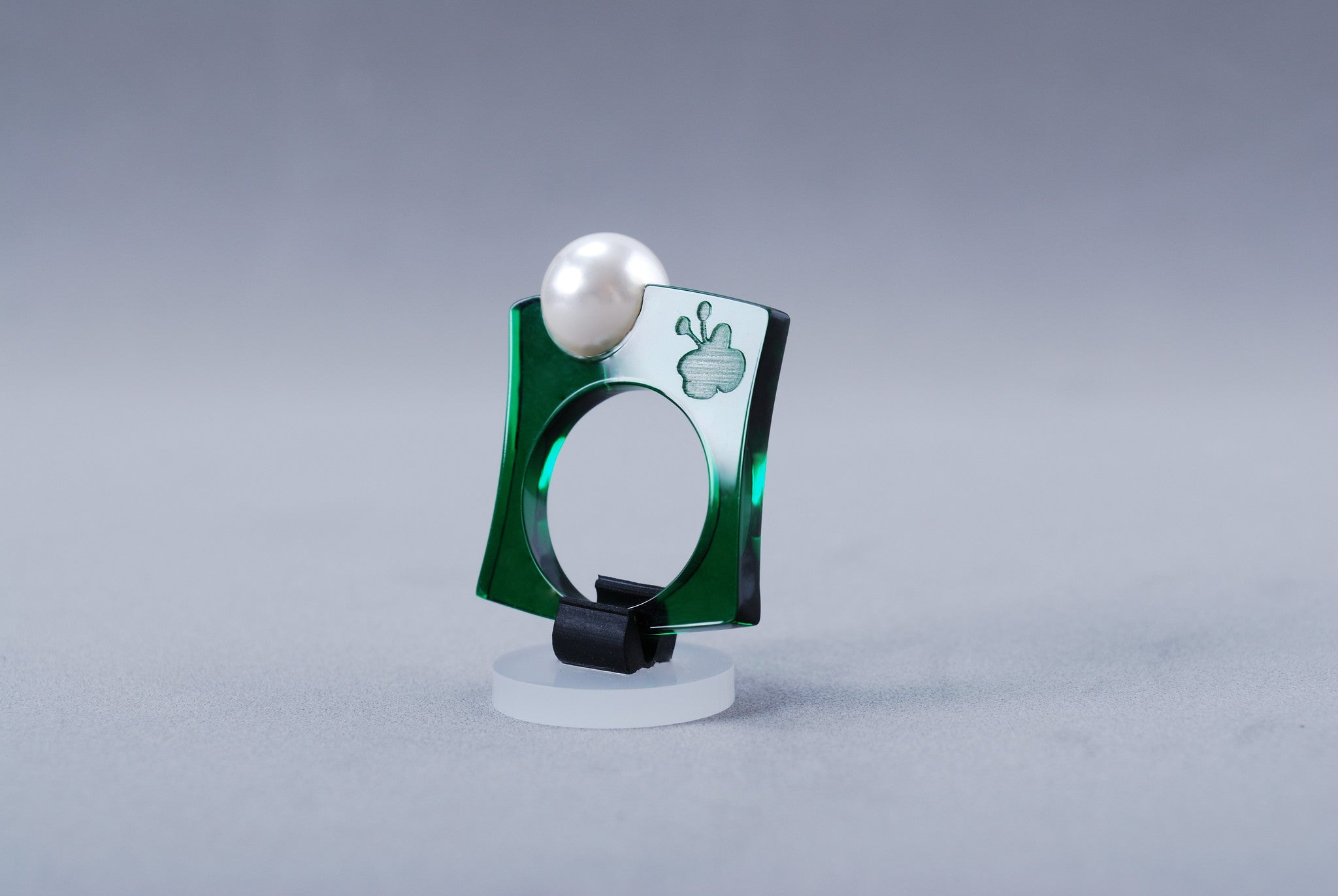 Anillo Papaiona T3Classic - Crystal Forest