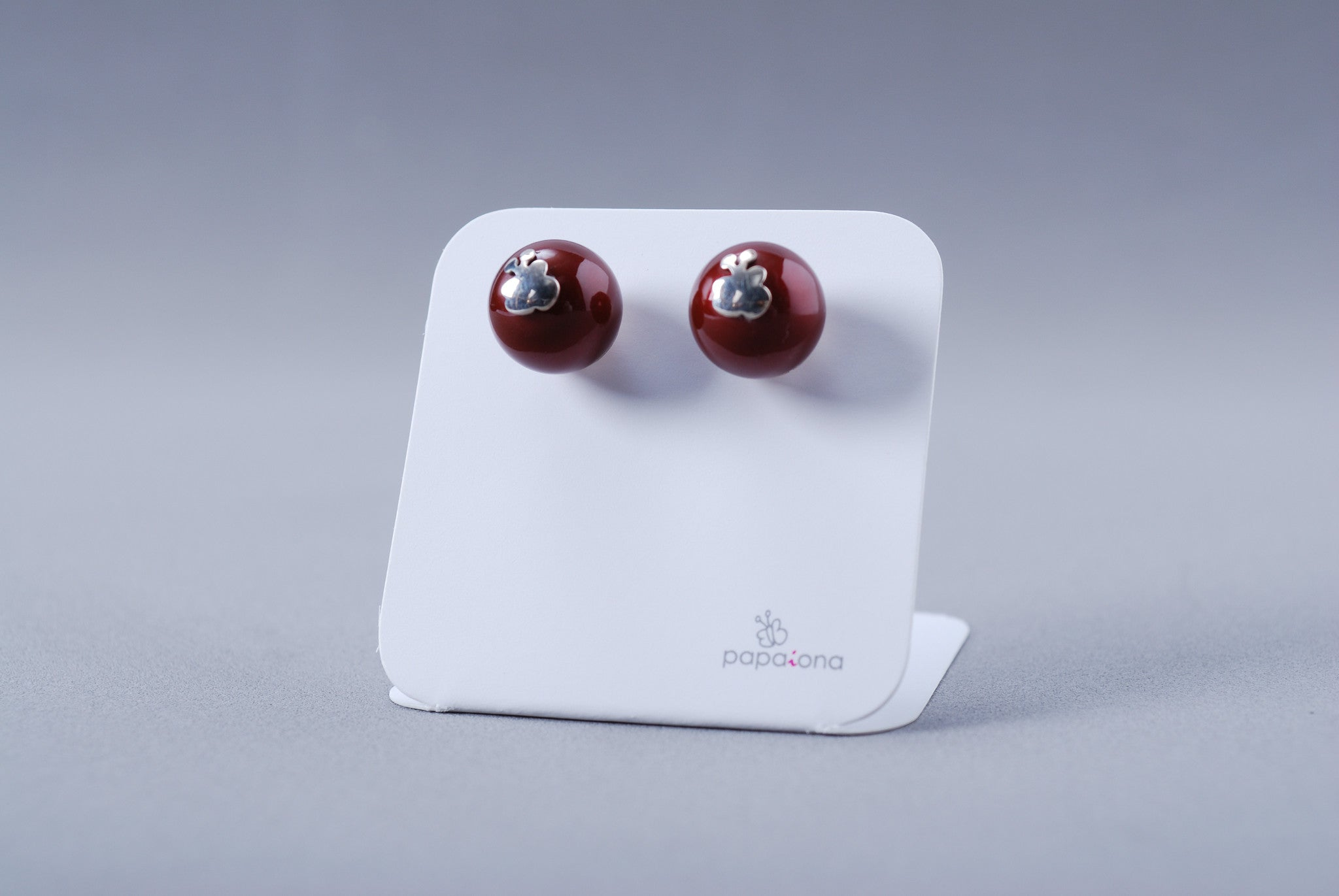 Pendientes Papaiona Twins On Burdeos