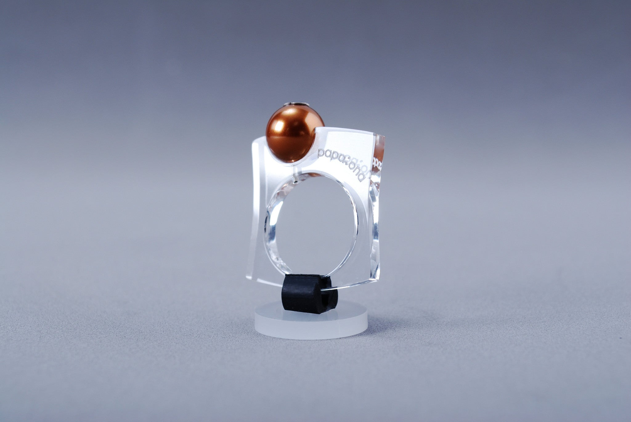 Anillo Papaiona T4On - Crystal Copper