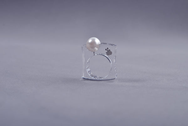 Anillo Papaiona T6 Fit - Crystal Ice