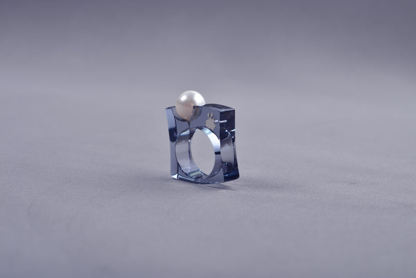 Anillo Papaiona T8 Fit - Crystal Smoke