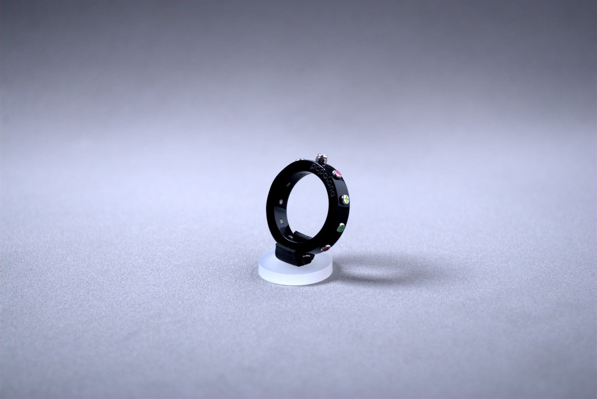 Black Rosary Ring by Papaiona