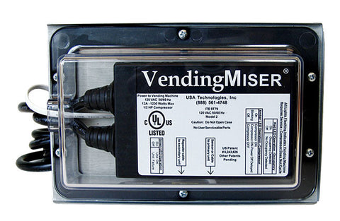 VendingMiser® VM181 Outdoor EZ Mount L-Bracket w/ 10' Repeater Cable and Weatherproof Enclosure