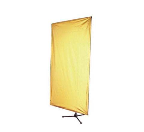 "Aurora LP1022 S/W Light Panel 100x220cm (40x86"") Silver & White"
