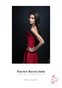 Hahnemuhle - FineArt Baryta Satin 300 gsm, 8.5x11, 25 sheets (Special Order)