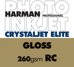 "Harman Crystaljet Elite Gloss 8.5""x11"", 25 sheets (Special Order)"