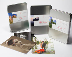 "Hahnemuhle - Photo Rag® Baryta 315 gsm, 5.8""x8.3"", 30 cards in a tin Hahnemuhle box"