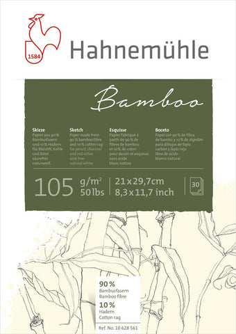 Hahnemuhle Bamboo Sketch Pads A4
