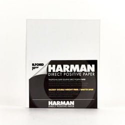 Harman Direct Positive FB Glossy, 5×7, 25 Sheets