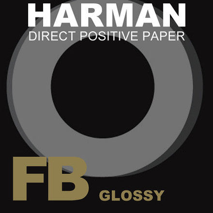 Harman Direct Positive PAPER FB1K 4x5, 25 Sheets
