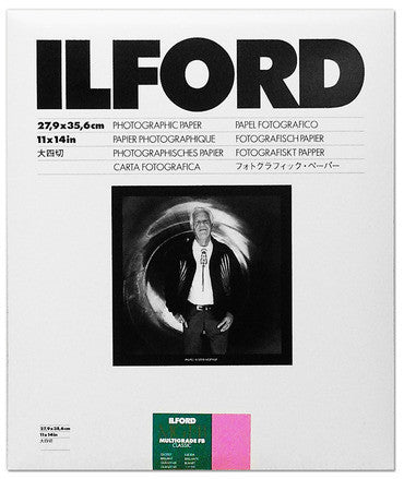 Ilford Photo - MGFB1K CLASSIC 11x14, 50 SHEETS