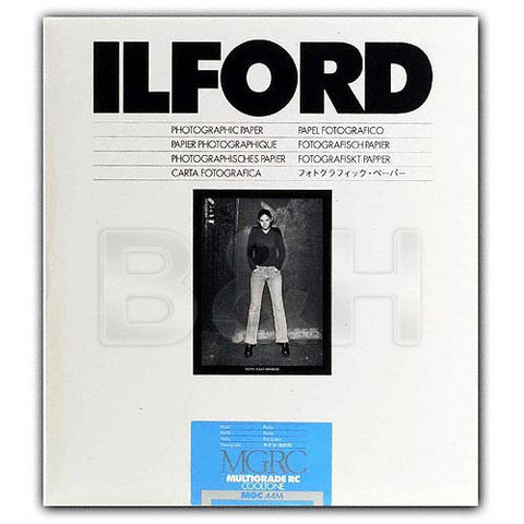 Ilford Multigrade Cooltone Resin Coated (RC) Black & White Paper