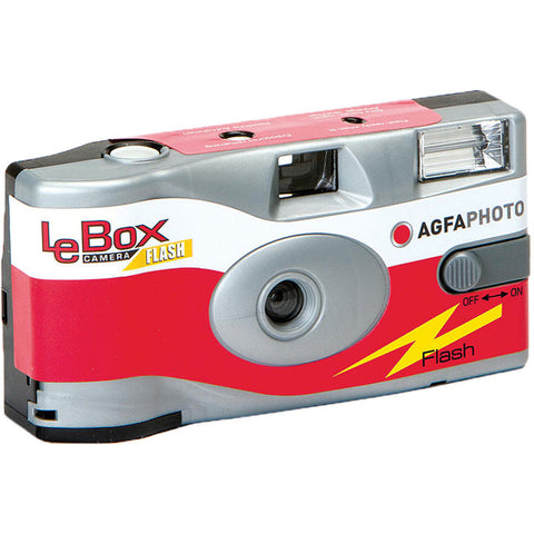 AgfaPhoto LeBox Flash 35mm Disposable Camera