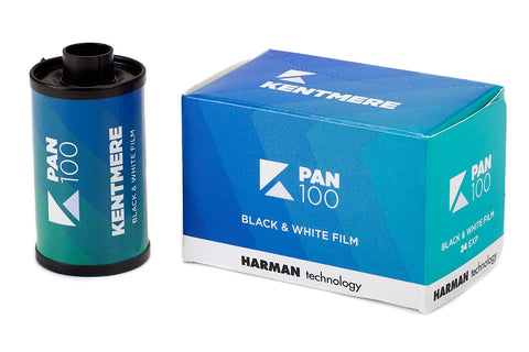 Kentmere - 100 135-24 Black and White Negative Film