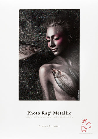 Hahnemuhle - Photo Rag® Metallic 24 x 16.4, SAMPLE ROLL