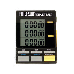 Paterson - Triple Timer Clock (Special Order)