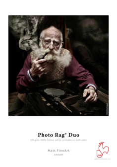Photo Rag ® Duo 276 gsm 13x19/25