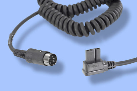 Quantum - 1.3m Colied Cable for Metz 45CT / 45CL Series
