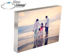 Silver Linings Frame 8x20 Silver