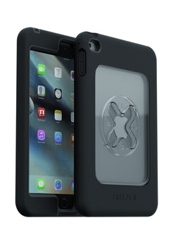 X Lock Case for iPad, Mini 4, Rugged, Black